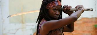 Michonne and her Katana